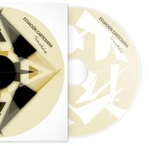 Ecuación cartesiana / CD cover. Um projeto de Design e Ilustração de Aida Fernández         - 14.04.2011
