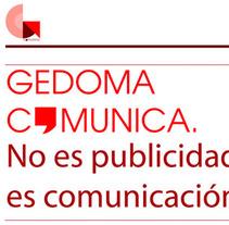 Web Gedoma Comunica. Um projeto de Design e Informática de Joseto Martinez Garcia         - 14.04.2011