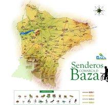 Guía Senderos de Baza. Un proyecto de Diseño e Ilustración de Lopekan :: - 24-04-2011