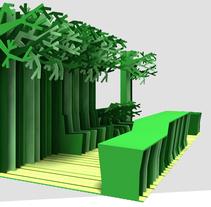 ECOSTAND. Um projeto de Design, Instalações e 3D de Paspartú studio         - 31.05.2011