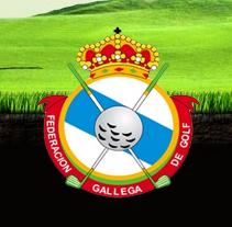 Web Federación Gallega de Golf. A Design project by Oscar Sanluis - Jun 05 2011 07:04 PM