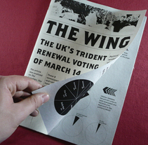The Wing. Um projeto de Design de Pedro Falcão         - 06.07.2011