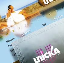 Unicka - Styling Beauty Secrets (Propuesta de imagen para espacio comercial). A Design&Installations project by Fernando Carvantes         - 13.07.2011