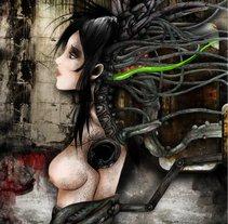 Dymphne Sanctis Artwork. Un proyecto de Diseño e Ilustración de Javier Muñoz Nájera         - 21.07.2011