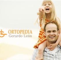 Web Ortopedía Gerardo León. Um projeto de Design, Publicidade e Desenvolvimento de software de hola@kvra.es          - 22.07.2011