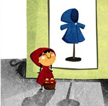 Caperucita roja?. A Illustration project by Viuleta crespo         - 28.07.2011