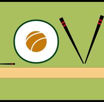 I love sushi. Un proyecto de Ilustración de adriana carcelen         - 19.08.2011