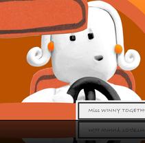 Orange Stopmotion. Um projeto de Design, Ilustração, Publicidade e Informática de lfgarrrido - 30-08-2011