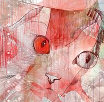 muestra de ilustraciones. técnica mixta. A  project by Robert Tirado - 04-09-2011