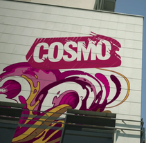 Cosmo Graffiti Ident. A Design, Illustration, Advertising, Motion Graphics, Film, Video, and TV project by Brandia TV         - 05.09.2011