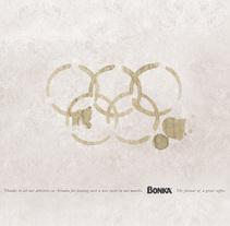 Bonka Olympics Sponsorship. Um projeto de Publicidade de Lorenzo Bennassar         - 06.09.2011