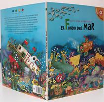 El fondo del Mar/ Colección Libros para jugar/ pop-up. Un proyecto de Diseño, Ilustración, Fotografía y UI / UX de Emil Markov - 06-09-2011
