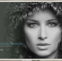 Web Layla el Khadri. A Design, Advertising, Software Development, Photograph, Film, Video, TV&IT project by Esther Lopez Rubio - 18-09-2011