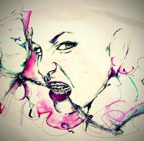 Revista GQ. A Design&Illustration project by Laura Pintamonadas         - 22.09.2011