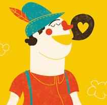 ¡Canta Yodel!. Un proyecto de Ilustración de Marisa Morea         - 23.09.2011