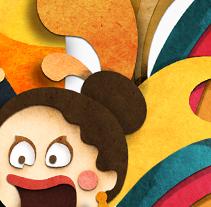 Cartel del Pilar 2009. Un proyecto de Diseño, Ilustración y Publicidad de Eloy Aranda         - 18.10.2011