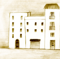El pueblo. Un proyecto de Ilustración de Lola Roig - Sábado, 22 de octubre de 2011 12:41:43 +0200