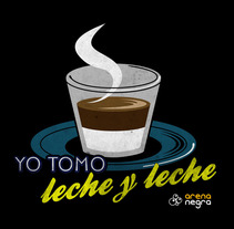 Yo tomo leche y leche. A Design&Illustration project by Kinga  - 25-10-2011