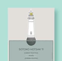 Sotoko Hotsak '11. Un proyecto de Ilustración y Diseño gráfico de La caja de tipos  - Miércoles, 14 de septiembre de 2011 00:00:00 +0200