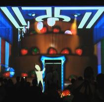El Pastel del Futuro II. Um projeto de Design, Música e Áudio, Instalações, Cinema, Vídeo e TV e 3D de Marco Tavolaro         - 27.10.2011