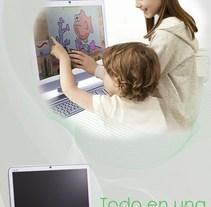 Campaña publicitaria para sony vaio. A Design, and Advertising project by Claudia Tripputi - 01-11-2011