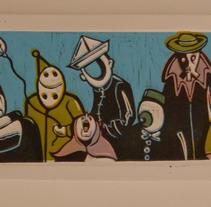 ''Ciclo vital''. Um projeto de Ilustração de Natxo  Ramirez Garcia - 08-11-2011