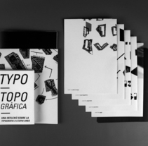 Typo Topogràfica. A Design, Illustration, and Photograph project by Bet Puigbò Gassó         - 08.11.2011