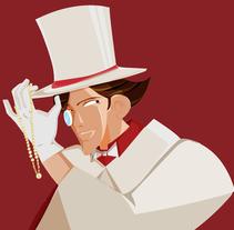 personajes para juego de cartas. Un proyecto de Ilustración de Nadia Morales Perez         - 18.11.2011