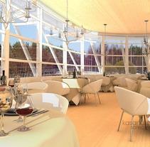 Restaurante VRay. Un proyecto de Diseño, Instalaciones y 3D de Diseño de Interiores         - 01.12.2011