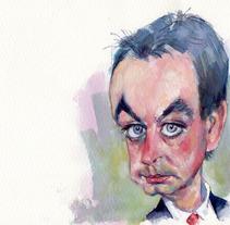Caricaturas. Um projeto de Ilustração de Pepe Rubio         - 26.12.2011