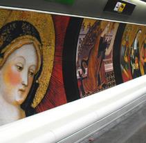 MNAC i la primavera cultural de TMB. Un proyecto de Diseño, Publicidad, Instalaciones y Fotografía de Sergi Grañén         - 05.01.2012