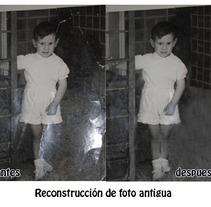 Areglos de fotos antiguos. A Advertising, and Photograph project by Doina Catruna         - 09.01.2012