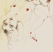 Desnudas (ilustraciones). A Design&Illustration project by Cecilia Sánchez         - 10.01.2012