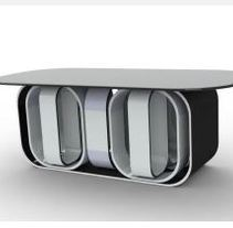 conjunto de mesa y taburetes. A Design, and 3D project by yesika aguin gomez - 01.15.2012