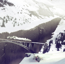 Matte Painting Mountain adventure. A Illustration project by Pablo Arenales - Jan 17 2012 03:26 PM