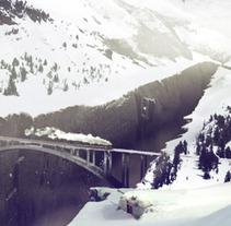 Matte Painting Mountain adventure. Un proyecto de Ilustración de Pablo Arenales - 17-01-2012