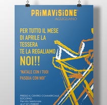 Cartel PRIMAVISIONE. A Design, Illustration, and Advertising project by Ion Richard         - 19.01.2012