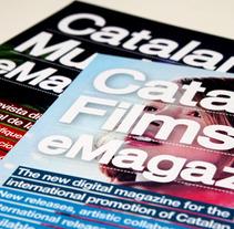 Flyers para los eMagazines. Um projeto de Design, Ilustração, Publicidade, Música e Áudio e Fotografia de Director PMGrafika         - 09.02.2012