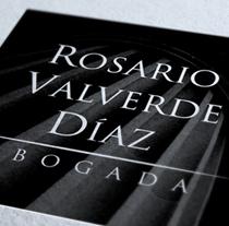 Rosario Valverde Díaz. Un proyecto de Diseño de David Sierra Martínez - 25-02-2012