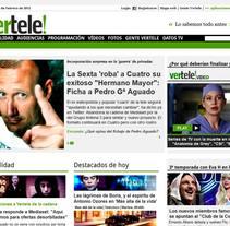 Vertele.com. Um projeto de Desenvolvimento de software de Kasual Studios         - 05.03.2012