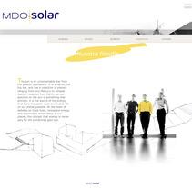 Diseño WEB para MDO solar. A Design project by Gabriel Serrano - 12-03-2012