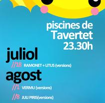Concerts Tavertet. A Design project by Maria Oliva         - 21.03.2012