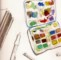 Dibujos por La Habana. A Illustration project by carmen navarro         - 04.04.2012