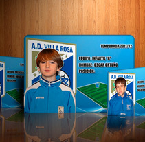 Football players webcards. A Design, and Photograph project by Eduardo Bustamante         - 06.04.2012