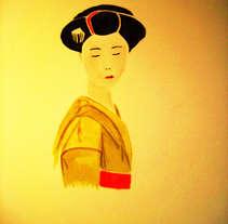 Thoughtful Japanese. Um projeto de Ilustração de Jose Luis Torres Arevalo         - 09.04.2012