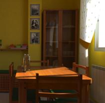 Mi casa en 3D. Un proyecto de 3D de Oscar Hernández de la Viuda - 11-04-2012
