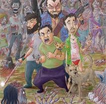 santa marta resiste. A Illustration project by iago roel regueira         - 26.04.2012