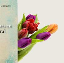 Adornos florales. Um projeto de Web design e Desenvolvimento Web de Alba Junyent Prat         - 26.04.2012