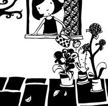 en blanco y negro. A Illustration project by Elisa Bernat         - 01.05.2012