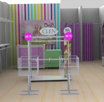 tienda clendy. A Design, Installations, 3D&IT project by Claudia Patricia Arias Londoño         - 09.05.2012